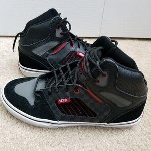 Vans High Top Suede Leather Skateboard Sneakers
